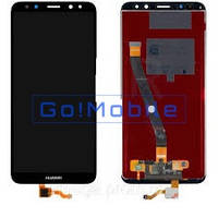 Дисплей + сенсор (модуль) экран Huawei Mate 10 Lite (RNE-L01, RNE-L21, RNE-L23, RNE-AL00) черный оригинал