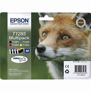 Комплект картриджей Epson (T1285) Stylus SX125/SX420W/425W (C13T12854010/C13T12854012) Multipack
