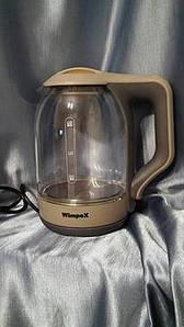 Электрический Стеклянный Чайник 2л. Wimpex WX-2529 am
