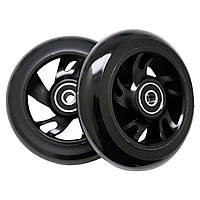 Колеса для трюкового самоката SportVida Alu Abec 9 RS черный 100 мм PU SV-WO0010 SKL41-249510