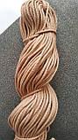 Шнур поліефірний з сердечником 5мм №10 Бежева пудра, фото 2
