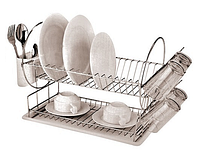 Сушка для посуду хром, h-42см, XSL-001S (MH-0534)