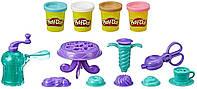 Набор для творчества Плей-До Выпечка и пончики Play-Doh Kitchen Creations Delightful Donuts Set