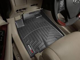 Ковры резиновые WeatherTech Lexus RX 2009-2012 передние черные