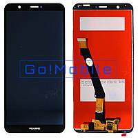 Дисплей + сенсор (модуль) экран Huawei P Smart FIG-LX1, FIG-LX2, FIG-LX3, FIG-LA1 Enjoy 7S черный оригинал