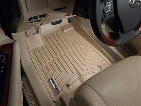 Ковры резиновые WeatherTech Lexus RX 2009-2012 передние бежевые