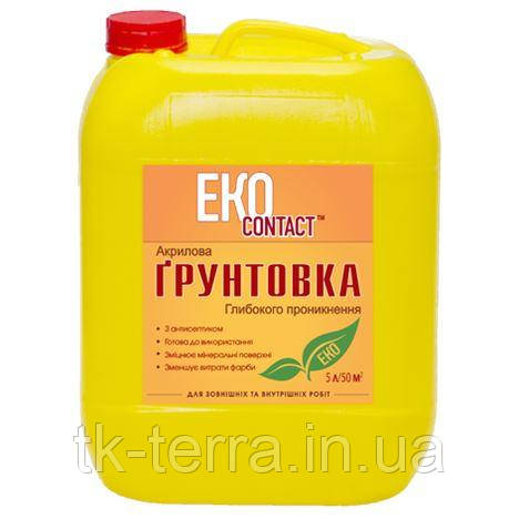 Грунт акриловьій Днепр-Контакт EcoContakt 5л.