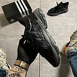 Мужские кроссовки Adidas Ozweego Black Gray, мужские кроссовки адидас озвиго, фото 2
