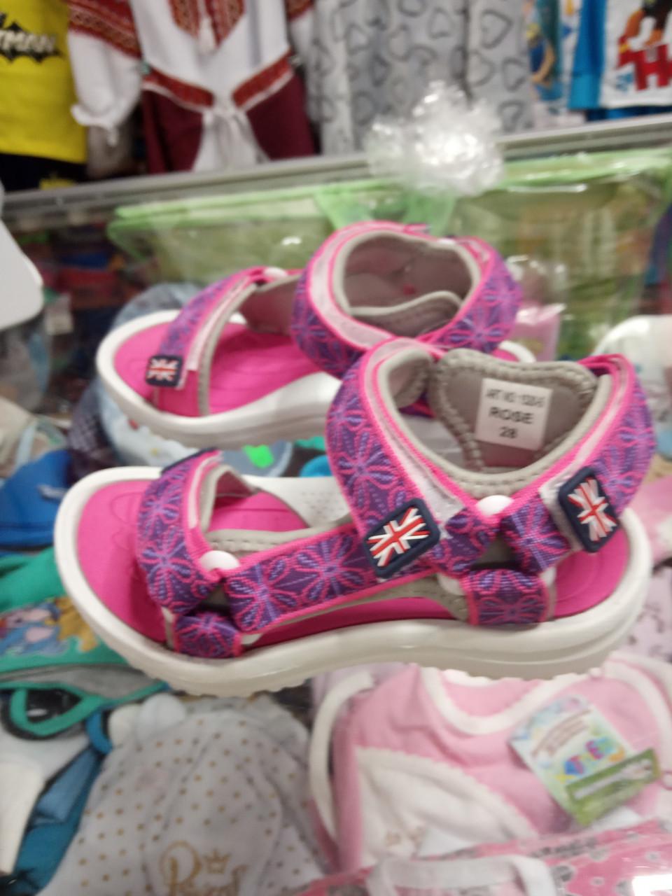 Летние спортивные босоножки сандалии для девочки размер  30 31