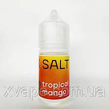 """Солевая жидкость """"X SALT"""" TROPICAL MANGO 30ml"""