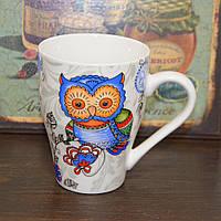 """Чашка """"Magic owl"""" blue (320 мл.), фото 1"""