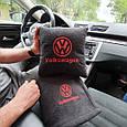 """Автомобильный набор: подушка и плед с логотипом """"Volkswagen"""" цвет на выбор, фото 6"""