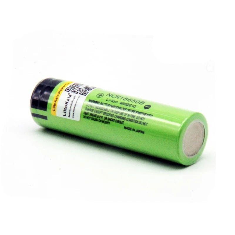 Оригинальная литиевая аккумуляторная батарея Liitokala NCR18650B 3,7 v 3400 mAh