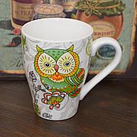 "Чашка ""Magic owl"" green (320 мл.), фото 1"