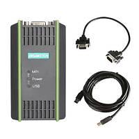 USB MPI DP кабель для программирования ПЛК Siemens S7 300 400