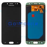 Дисплей + сенсор (модуль) Samsung J530 Galaxy J5 2017 черный OLED high copy