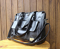 Мужская кожаная сумка. Модель 63223, фото 10