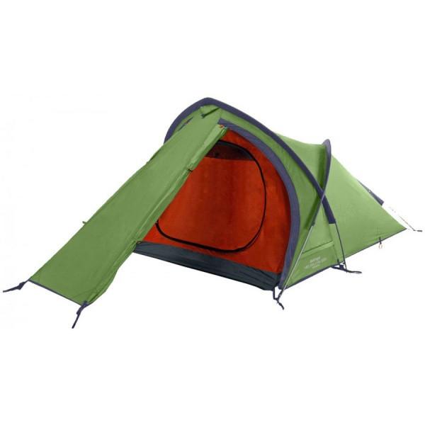 Двухместная палатка купол двухслойная с тамбуром Vango Helvellyn 200 Pamir Green