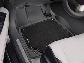 Ковры резиновые + ворс   WeatherTech Lexus RX 2016+ передние черные