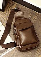 Мужская кожаная сумка. Модель 63229, фото 9