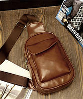 Мужская кожаная сумка. Модель 63229, фото 10