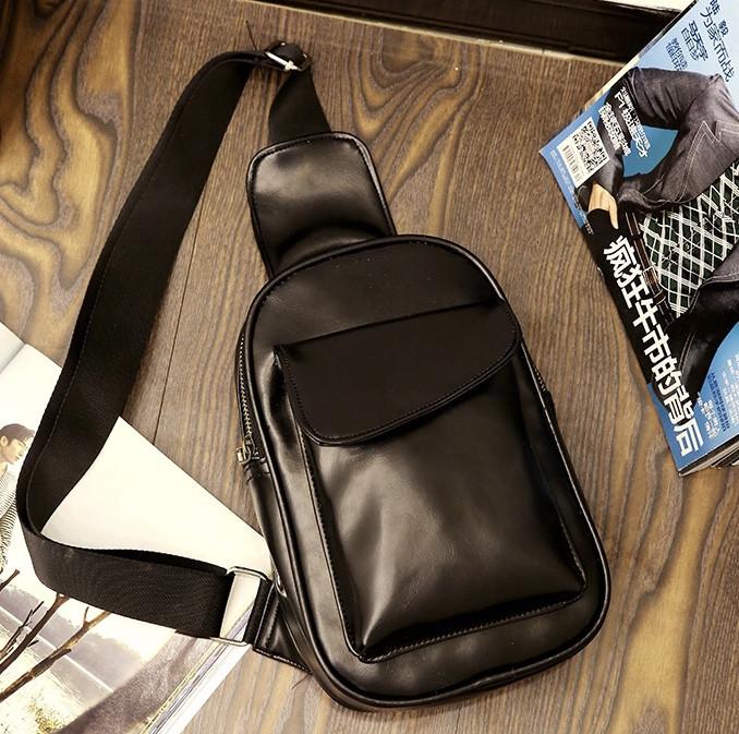 Мужская кожаная сумка. Модель 63229