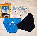 Трусики для мальчика Domi 7200 комплект 3 шт в упаковке  110-116 122-128, фото 2