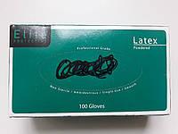 Латексні рукавички 100 шт розмір L, фото 1