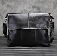 Мужская кожаная сумка. Модель 63234, фото 10