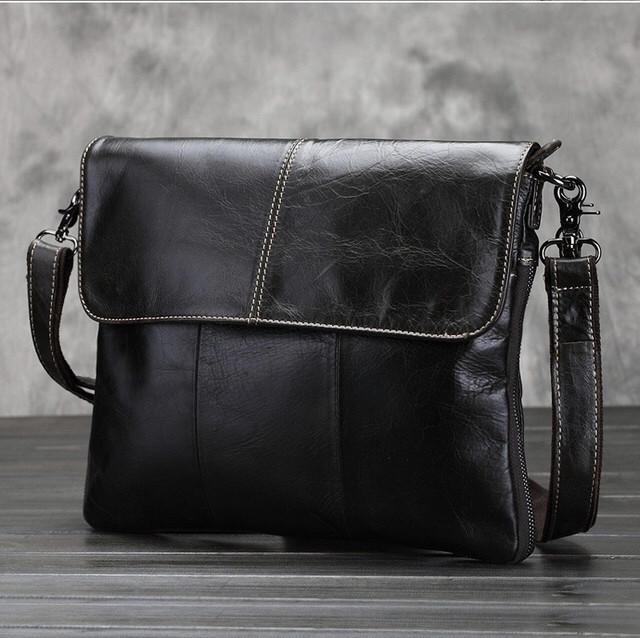 Мужская кожаная сумка. Модель 63234