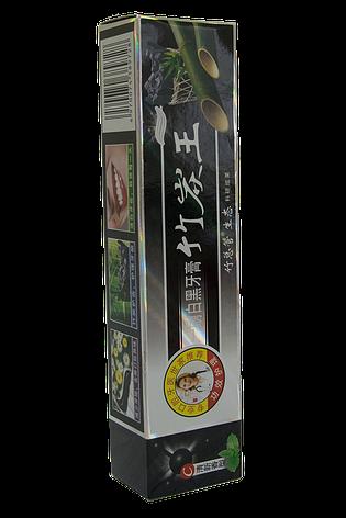 Зубная паста с бамбуковым углем натуральная турмалиновая Tian Wu (Тянь Ву) отбеливающая китайская, фото 2