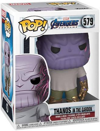 Фігурка Funko Pop! Avengers:Endgame. Thanos in the Garden #579/ Месники: Завершення. Танос в саду, фото 2