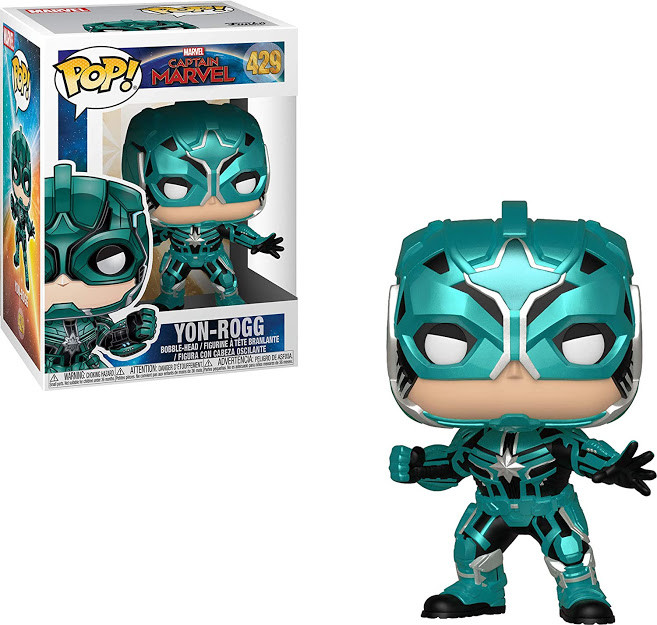 Фігурка Funko Pop! Captain Marvel. Yon-Rogg #429/ Капітан Марвел. Йон-Рогг