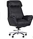 Кожанное кресло для руководителя - Wilson Grey, фото 2