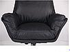 Кожанное кресло для руководителя - Wilson Grey, фото 4