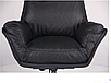 Шкіряне крісло для керівника - Wilson Grey, фото 4
