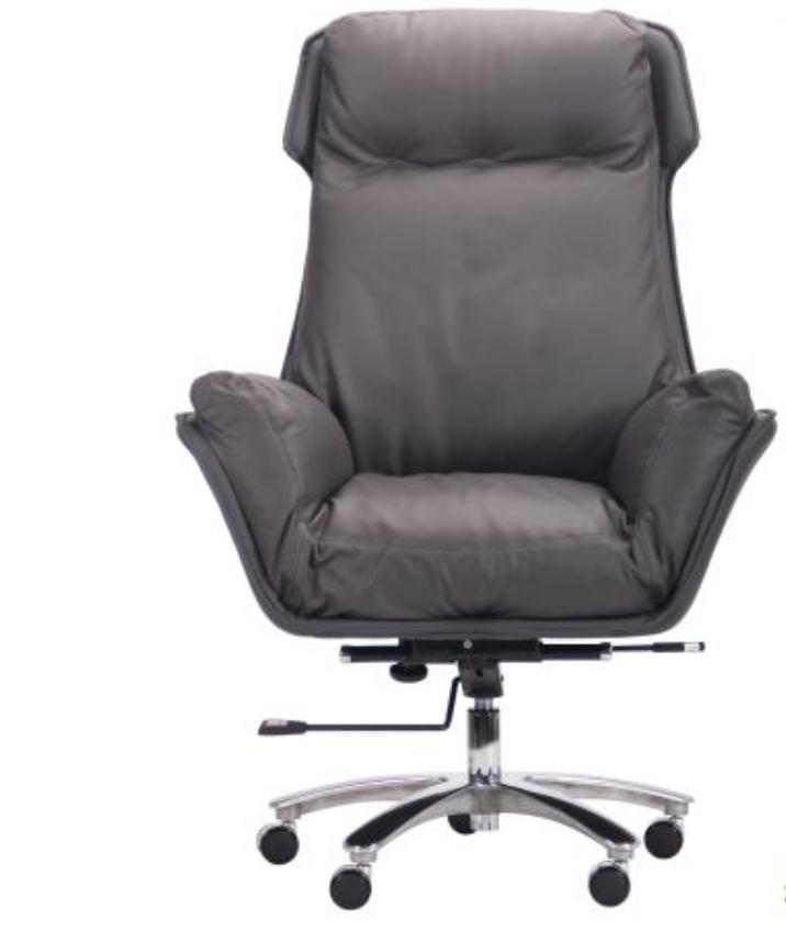 Кожанное кресло для руководителя - Wilson Grey