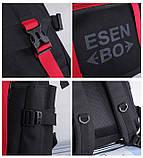 Вместительный мужской рюкзак, повседневный, городской, для ноутбука 15,6, спортивный хаки, фото 8