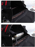Вместительный мужской рюкзак, повседневный, городской, для ноутбука 15,6, спортивный хаки, фото 10