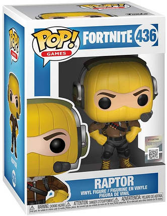 Фігурка Funko Pop! Fortnite. Raptor #436/ Фортнайт. Раптор, фото 2