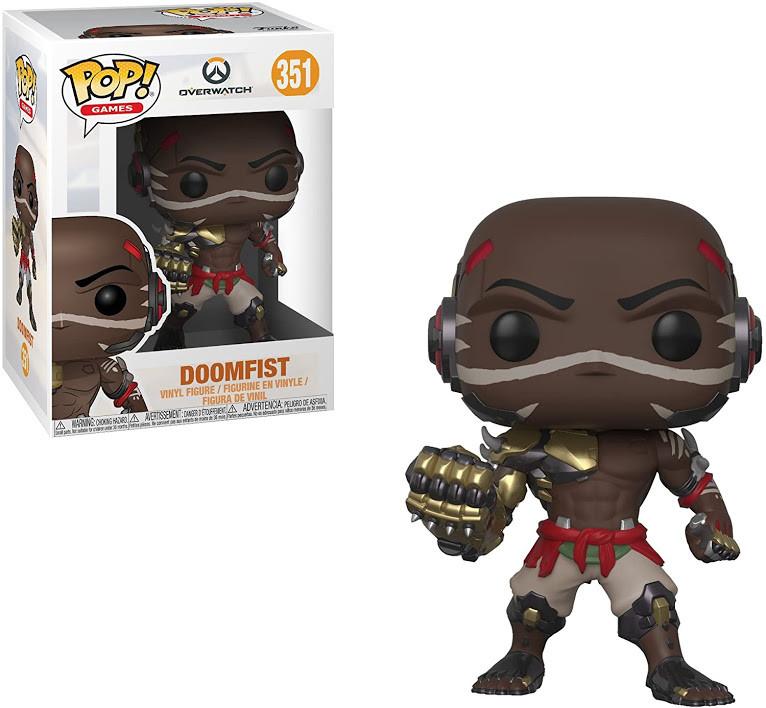 Фігурка Funko Pop! Overwatch. Doomfist #351/ Овервотч. Думфіст