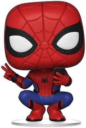 Фігурка Funko Pop! Spider-Man. Far From Home. Spider-Man (Hero Suit) #468/ Людина-павук в геройському костюмі, фото 2