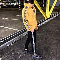 Спортивный мужской костюм  худи штаны хлопок Adidas адидас весна лето Киев