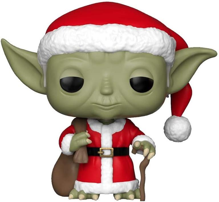 Фігурка Funko Pop! Star Wars. Yoda Christmas Theme #277/ Зоряні Війни. Йода новорічний