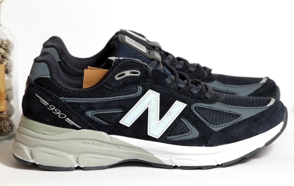 0382 Кроссовки New Balance из натуральной замши. Синего цвета. 42 размер - 26 см по стельке
