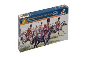 Британская тяжелая кавалерия. Наполеоновская Европа. 1/72 ITALERI 6001