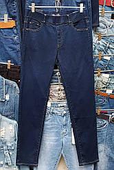 Джинсы женские с широкой резинкой в поясе (30-42 р)
