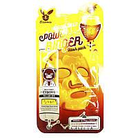 Тканевая маска медовая Elizavecca Face Care Honey Deep Power Ringer Mask Pack