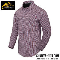 Сорочка Covert Concealed Carry - Scarlet Flame Checkered