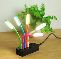 Светодиодная USB подсветка для клавиатуры USB LED лампа, фото 1